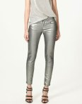 Zara silver trousers shop @zara.com